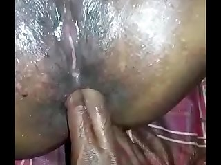 Mini Chechi squirting increased by anal sex
