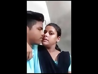 Indian school ungentlemanly open-air kissing