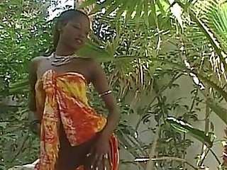 Amazing ebony pornstar India..