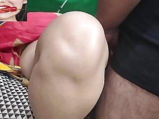 Cute Desi Hard Doggystyle Up Close