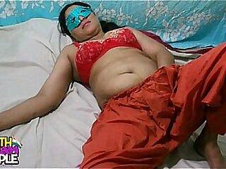 Swathi Indian Bhabhi In Red Shalwar Adapt Masturbation