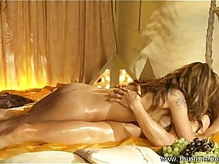 Astounding Tow-haired Gives Sensual Massage