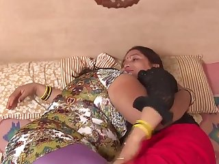 Indian aunties making out