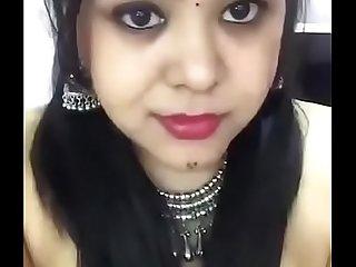 Beamy bosom indian