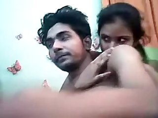 Desi Indian Young Lovers..