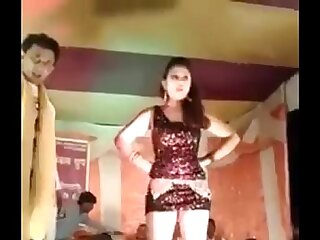 Crestfallen Hot Desi Teen Dancing On Stage in Nurture on Intercourse Song