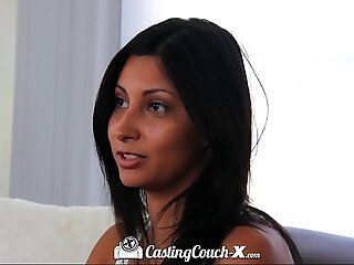 Casting Couch-X Texas teen eaten broadly on cam audition