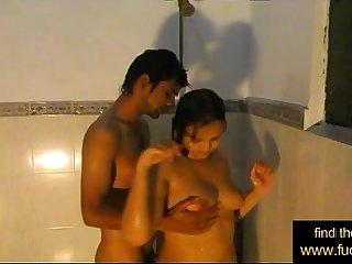 Indian amateur couple shower sex - www.fuck4.net