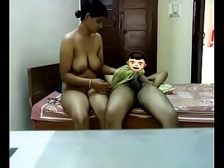 Indian Aunty sex with the..