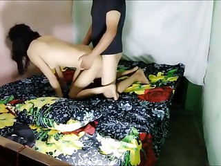 Indian Desi Wife Fucks close..