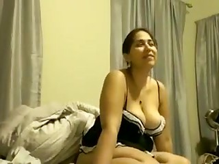 Hot Boobs sexy wife getting..