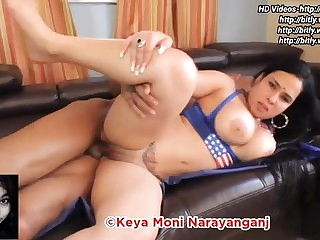 Indian Nri Bhabi with a big booty has hot sex, HD