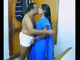 Indian couple fuck hard in..