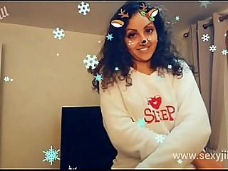Sunny Leone angel of mercy POV Christmas hot sexy desi indian bhabhi dishevelled blowjob exposed to reintroduce s.